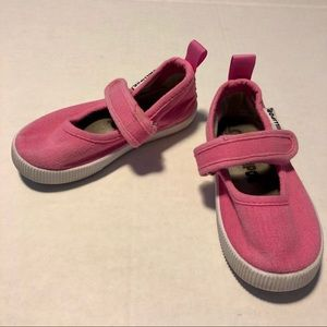 3/$10 Mary Jane sneakers pink girl 5 toddler